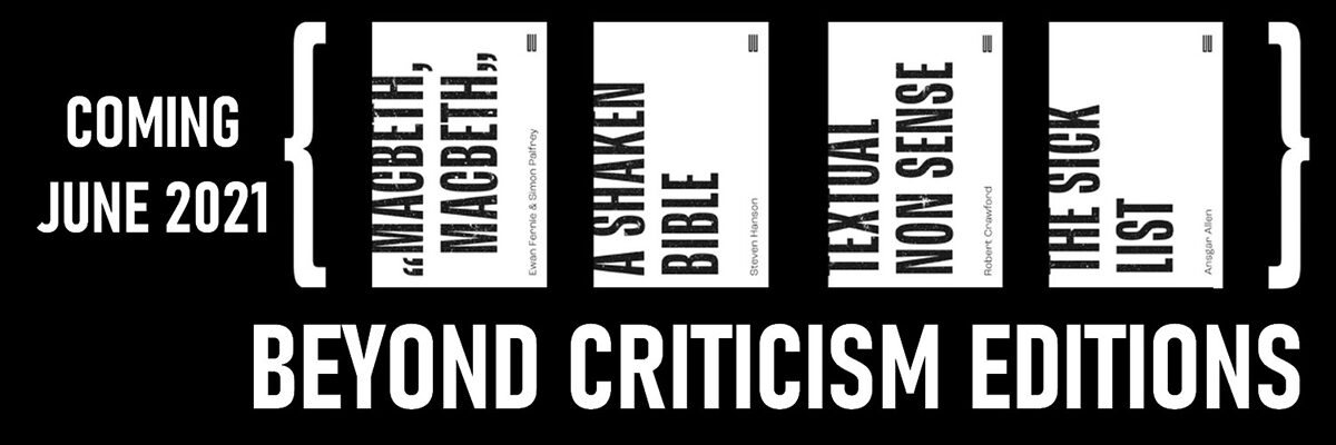 Beyond Criticism